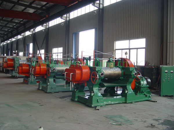 open mixing mill(bull gear box)